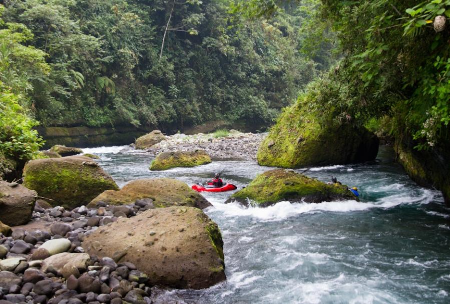Rio Antigua, Barranca Grande ('Grand Canyon')