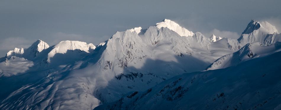 View down Tsirku Glacier