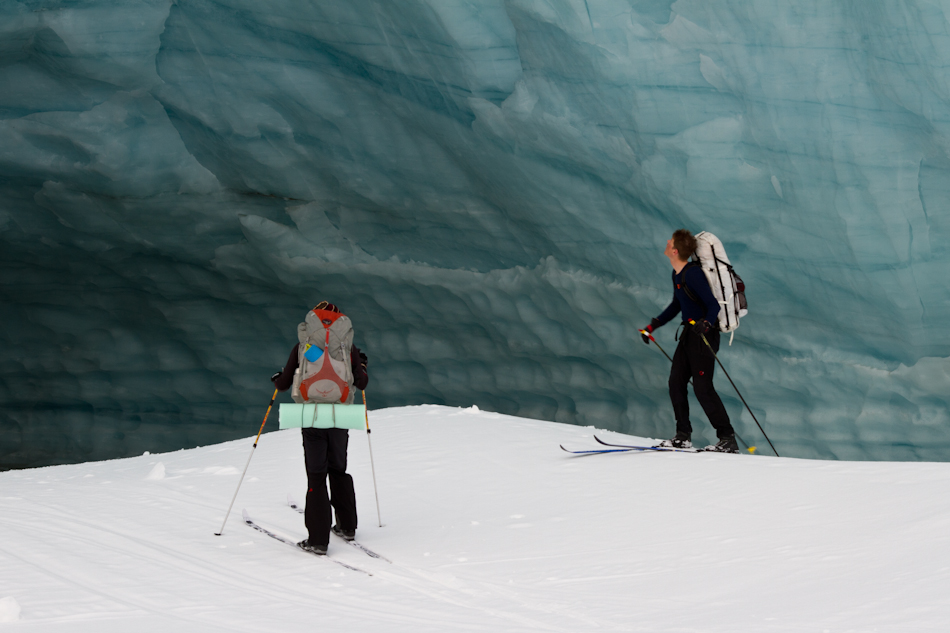 Scott Peters, Josh Mumm, Nizina Glacier