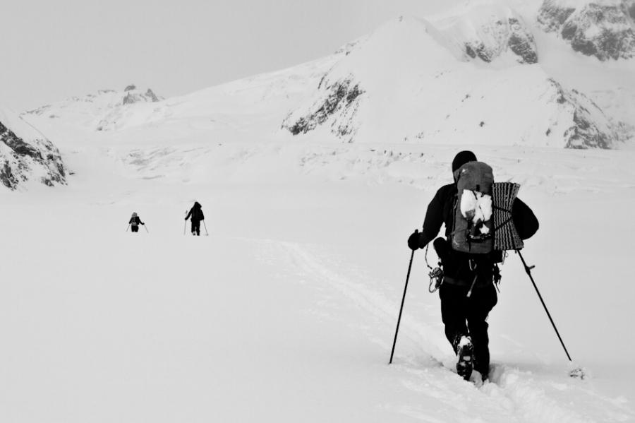 John Sykes, Nizina Glacier