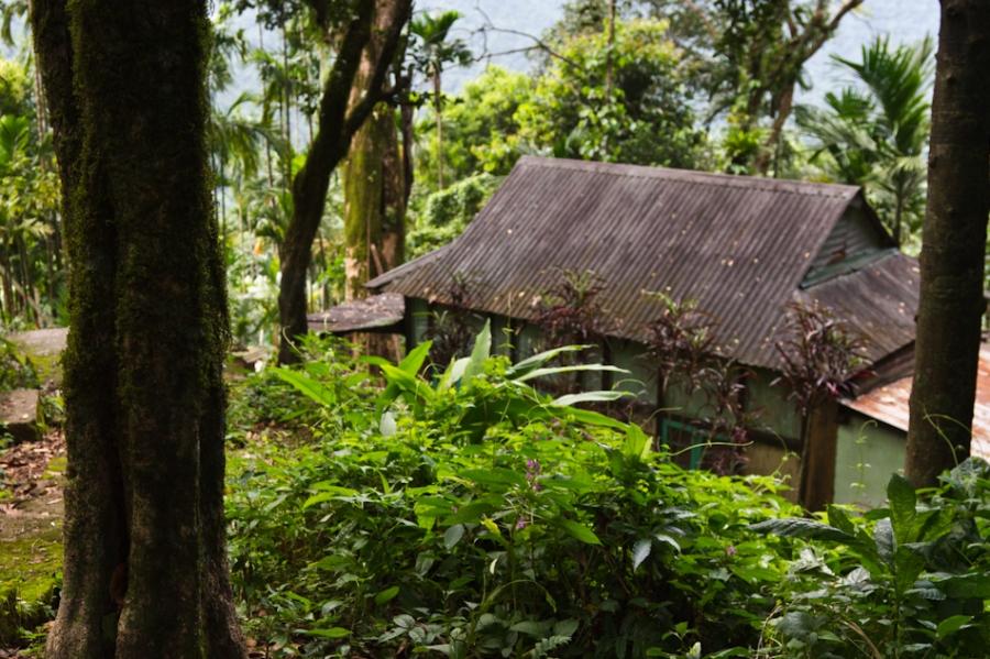 Village near the Umngot and Nongriat