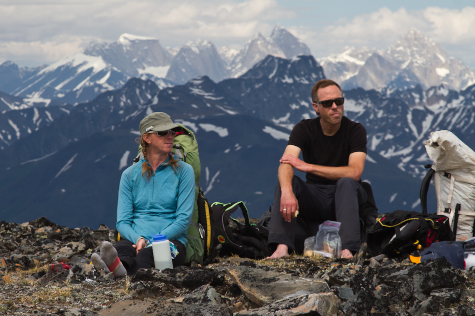 Kichatna Spires from Squaw Peak