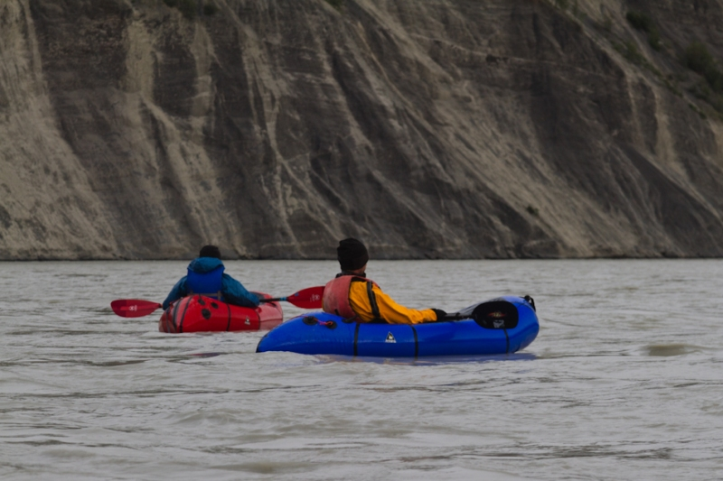 Matt Kupilik and John Pekar on the Chitina River