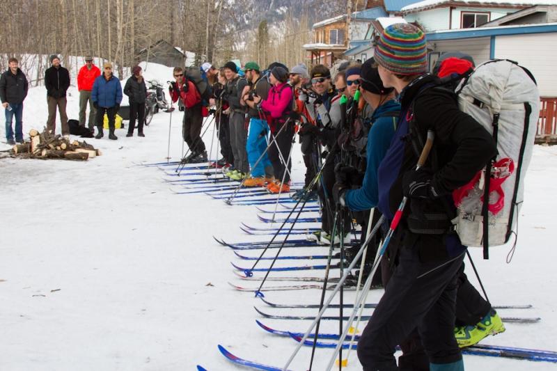 Madshus dominates the Alaska Mountain Wilderness Ski Classic