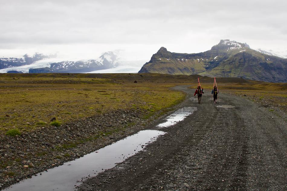 Road to Vatnajökull