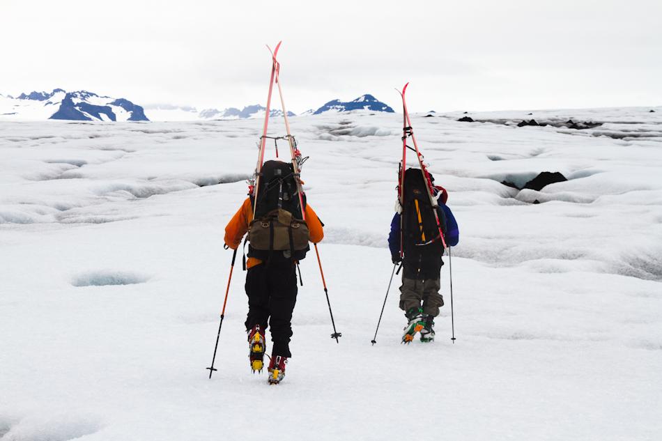 Vatnajökull first ice