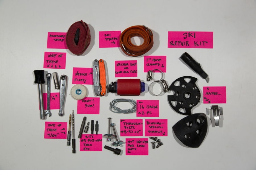 Repair kit components